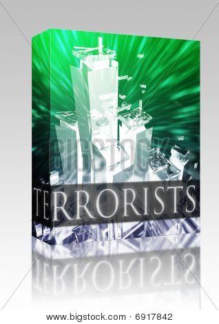 Terroristen Terrorismus im Paket