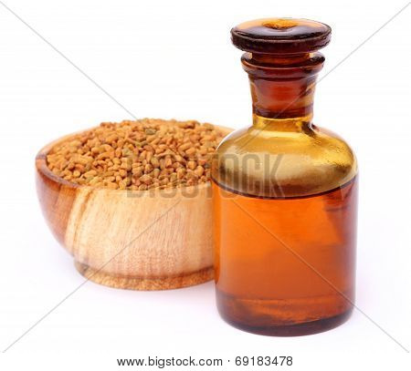 Fenugreek Seeds With Oil