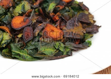 Fried Neem Leaves