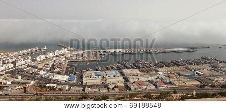 Port in Agadir, Morocco