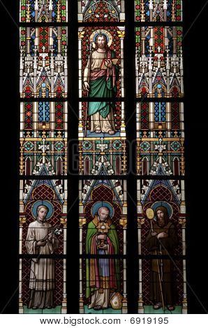 Saints - Stained Window