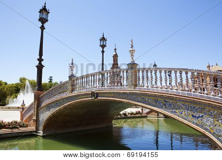 Spain Square Bridge
