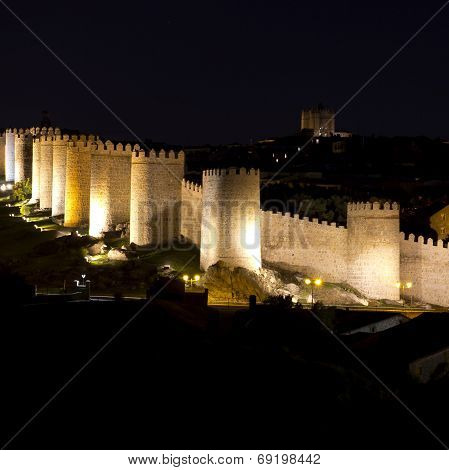 Walls Avila Spain