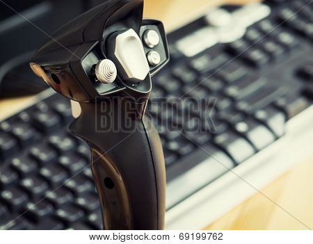 Game Joystick With Keyboard