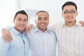 foto of southeast  - Southeast Asian business team in office - JPG