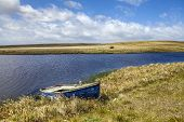 image of falklands  - North Pond North Coast of East Falkland Landscape - JPG