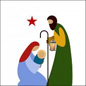 foto of nativity scene  - Nativity scene  - JPG