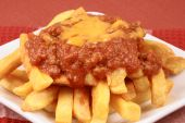 image of french fries  - Perfect and delicious chili fries with exquisite prime products