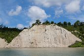 image of bluff  - Part of the Scarborough Bluffs cliff face along Lake Ontario - JPG
