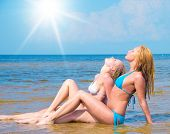 picture of denude  - Beauties on a Beach Joy  - JPG