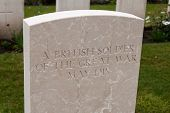 picture of world war one  - A British soldier of the great world war one - JPG