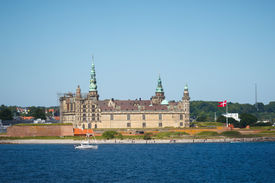 foto of hamlet  - Kronborg - a Castle of Hamlet in Helsingoer Denmark
