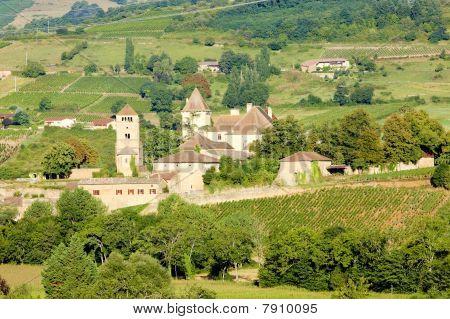 Chateau de Pierreclos Burgundy France