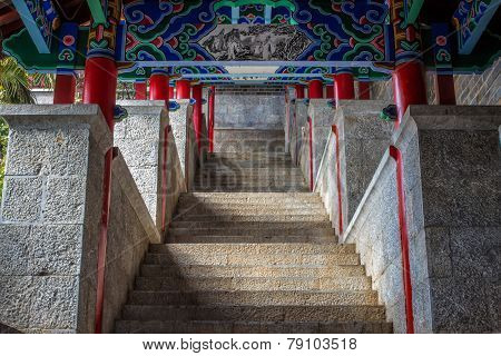 Chinese Palace Stairway