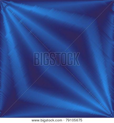 Rhombus effect Metallic blue background