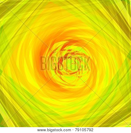 Twist Abstract yellow background