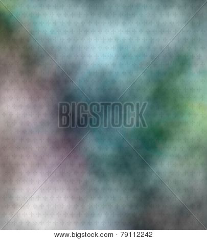 Abstract Colored Fleur De Lis Background