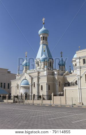 Russian Church of the Apostle Philip. Sharjah. United Arab Emirates