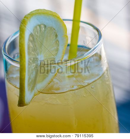 Homemade Lemonade Shows Juice Freshness And Healthy