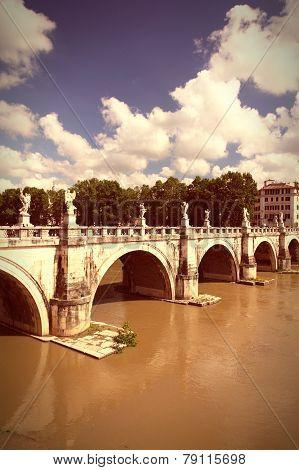 Ponte Sant Angelo, Rome