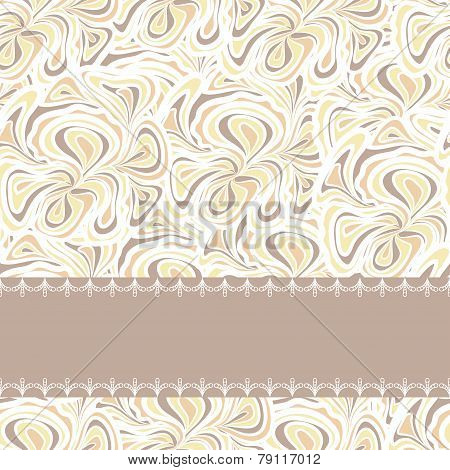 Beige pattern with stripe