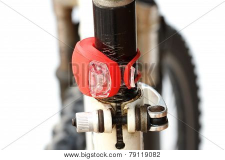 Tail Light Of Bicycle