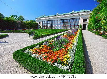 Garden In Salzburg