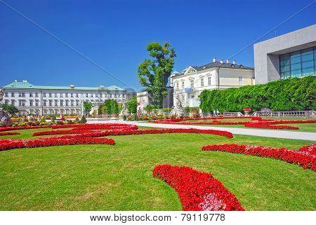 Summer View In Salzburg