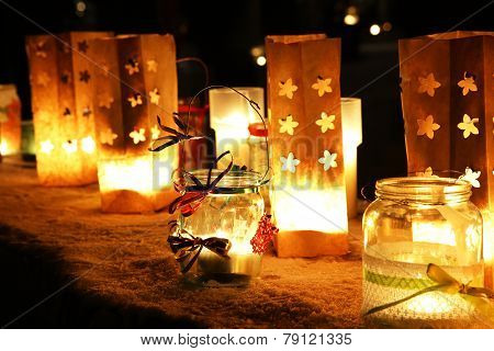 Chrismas Xmas Candles