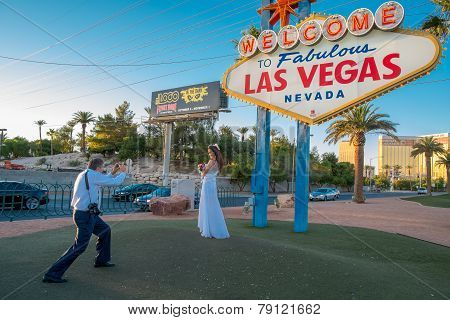Memories of a Vegas wedding