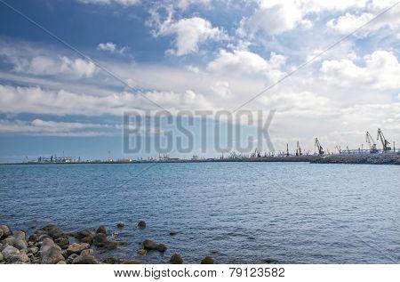 Shipyard In Constanta