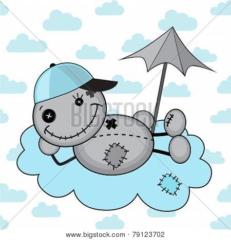 Monster Boy On A Cloud