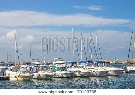 Boat And Yacht Harbor