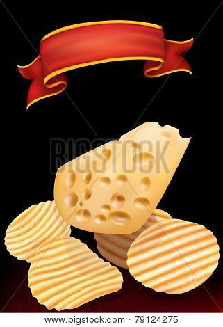 Potato Chips And Chees