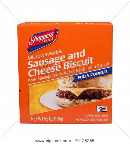 Sausage And Cheese Biscuit