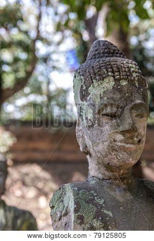 Damaged Handless Buddhist Statue