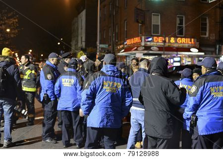 NYPD community affairs personnel