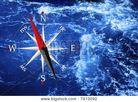Sea And Compass