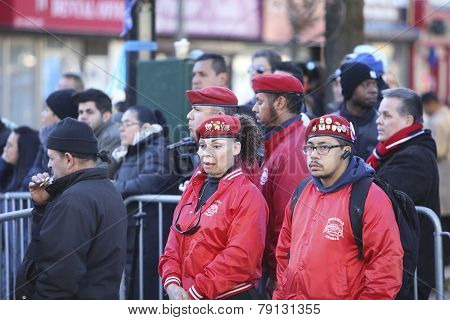 Guardian Angels pay respects
