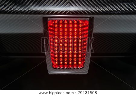 Rear sport car light