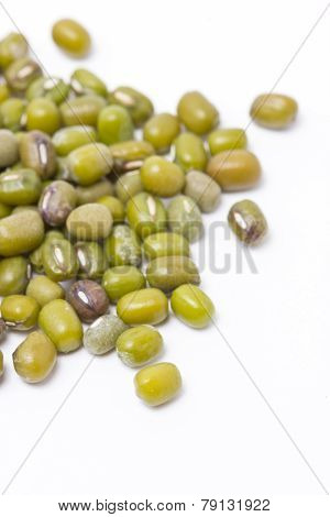 Close Up Of Mung Beans.