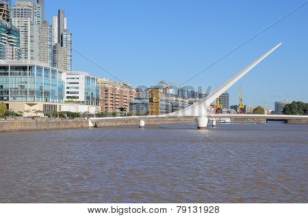 View Of Puerto Madero.