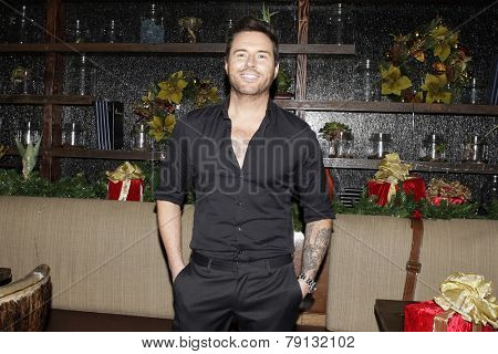 LOS ANGELES - DEC11: Jordan Cappella at Scott Nevins Presents SPARKLE: An All-Star Holiday Concert to benefit The Actors Fund at Rockwell Table & Stage on December 11, 2014 in Los Angeles, California