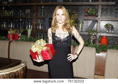 LOS ANGELES - DEC11: Lea Thompson at Scott Nevins Presents SPARKLE: An All-Star Holiday Concert to benefit The Actors Fund at Rockwell Table & Stage on December 11, 2014 in Los Angeles, California