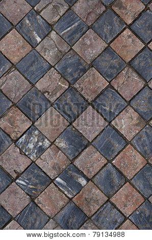 seamless mosaic floor texture