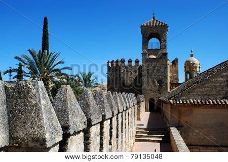 Castle walls, Cordoba.