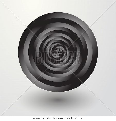 Black Circles Rotate To Lost