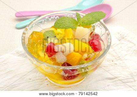 Gelatin Fruit Salad