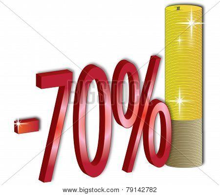 70 % Discount