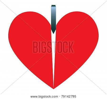 Heart And Wedge